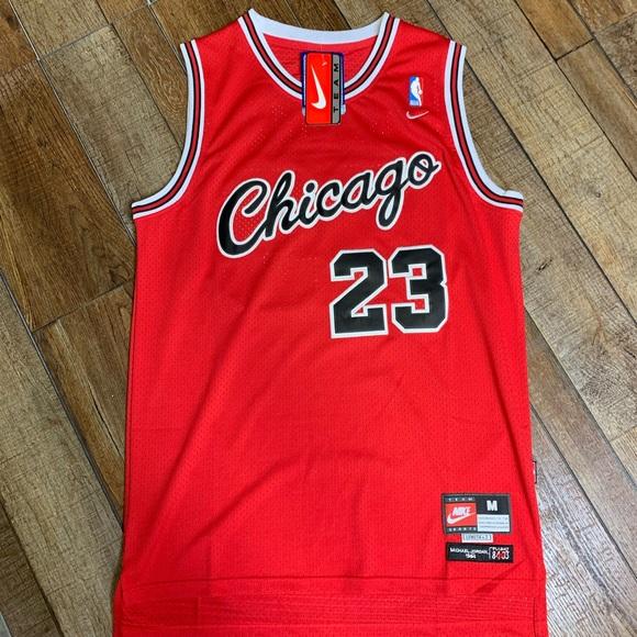 593b0af98b95 NWT Michael Jordan Chicago Bulls Script Jersey 🔥